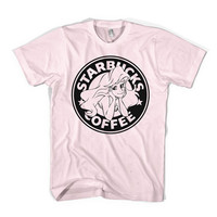 The Little Siren TShirt Starbucks Parody Little by Cakeworthy