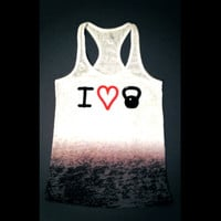 Kettlebell Workout Tank // Abundant Heart Apparel // Workout Clothing