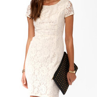 Essential Paneled Lace Dress | FOREVER 21 - 2025101322