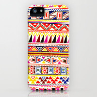 Triangle Tribal Print iPhone Case by ashleyg13 | Society6