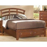 Vaughan-Bassett Bedroom Queen Arch Storage Bed, 5/0 BB10-Queen - Talsma Furniture - Hudsonville, Holland and Byron Center, MI