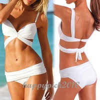 Womens Wonderful Sexy Bikini Swimwear Swimming Suit Push Up Padded