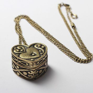 Heart Locket Necklace - Jewellery