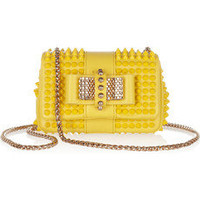 Christian Louboutin | Sweet Charity mini spiked leather shoulder bag | NET-A-PORTER.COM