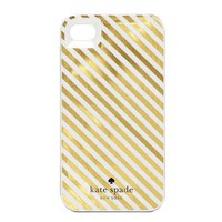 kate spade | diagonal stripe iphone 4 case