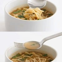 Ramen Spoon &amp; Fork