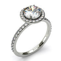 Pave Engagement Rings | Pave Diamond Rings