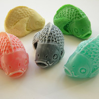 Koi Fish Soap by NancyFunkCeramics on Etsy