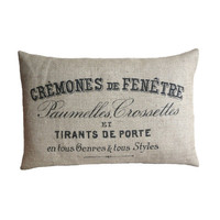 Vintage French Advert Cushion