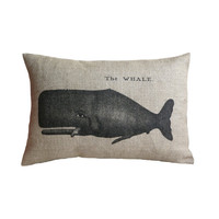 The Whale Cushion