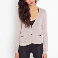 Chiffon Pocket Cardi in Clothes Tops at Nasty Gal