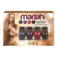 Amazon.com: OPI Mariah Carey Liquid Sand Mini Nail Lacquers: Beauty