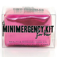 Hot Pink Minimergency Survival Kit - Unique Vintage - Cocktail, Evening & Pinup Dresses
