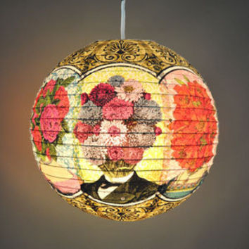 BlueQ Flower Heads Paper Lantern