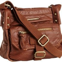 Amazon.com: Roxy Juniors Admiral Crossbody Bag, Brown, One Size: Clothing