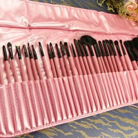 32pc Pro Pink Brush Set