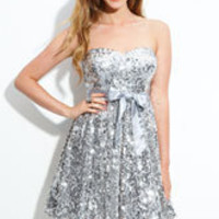 Way-In Sequnnined Party Dress (Juniors) | Nordstrom