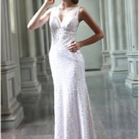 Shimmer and Glimmer Goddess Gown