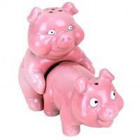 Porkin Pigs Salt and Pepper Shakers from BaronBob.com