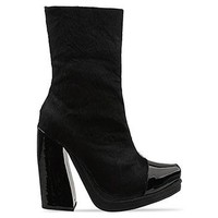 Jeffrey Campbell Rosmoor in Black Pony Black Patent at Solestruck.com