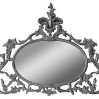 One Kings Lane - Barreveld International - Gilded Oval Mirror