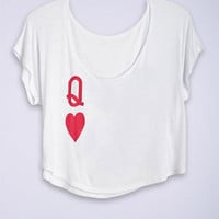 dELiAs > Queen Of Hearts Tee > tops > graphic tees > view all graphic tees