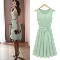 MINT ♡ VINTAGE Chiffon Dress