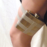 Flask Garter  You choose the color  Great for by GartersByLori