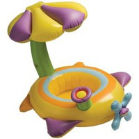 Amazon.com: Intex 56580EP Inflatable Flower Baby Float: Toys & Games