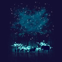 Cosmic Safari - Threadless.com - Best t-shirts in the world