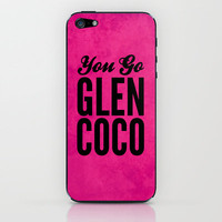 Glen Coco Pink iPhone & iPod Skin by Sandra Amstutz  | Society6