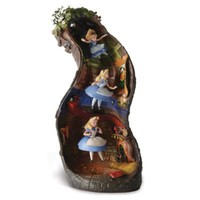 WDCC Signature Series ''Down the Rabbit Hole'' Alice in Wonderland Figurine | Figurines & Big Figures | Disney Store