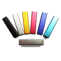Stylish 2400mAh External Battery for iPhone, Cellphone, MP3 etc.(Random Colors) from 1Point99.com