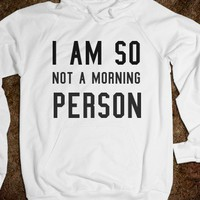 So not a morning person - S.J.Fashion