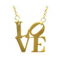 Love Stepping Stone Necklace