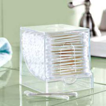 Qube Swab Dispenser, Q-Tips Organizer | Solutions