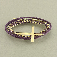 Purple Cross Wrap