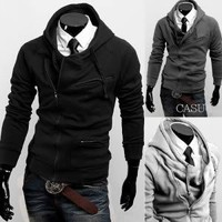 New Style Slim Fit Zip-Up Hoodie