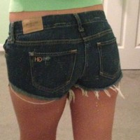 Gilly Hicks Jean Shorts ...