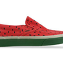 Vans Classic Slip On in Watermelon Print at Solestruck.com