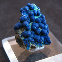 Mineral Specimen - Azurite, Malachite - Bisbee, Cochise Co., Arizona, USA
