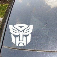 Autobots Car Decal by KellyCreationDecals on Etsy