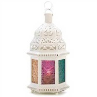 Ivory Enchantment Candle Lamp from lanternsnow