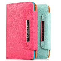 Side Flip Wallet Leather Case for Lumia 920