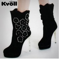 Wholesale Wholesale Kvoll Designer Boots X4113 - Lovely Fashion