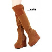 Wholesale Kvoll shoes wholesale fashion wedges boots X50834 - Lovely Fashion