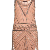 Nude Embellished Tank Dress - Going Out Dresses - Dresses - Apparel - Miss Selfridge US