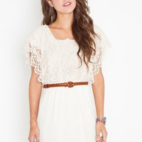 Calla Crochet Dress in Clothes Dresses at Nasty Gal