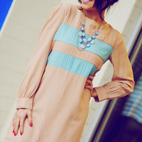 Pretty In Pastels Dress: Light Blue | Hope's