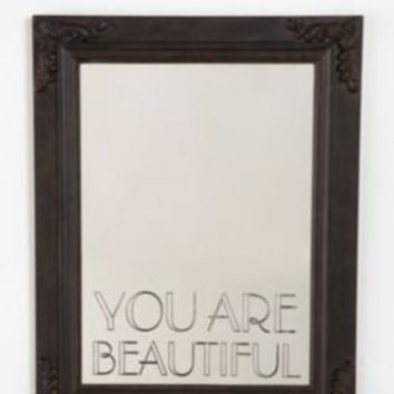 UrbanOutfitters.com > You Are Beautiful Mirror